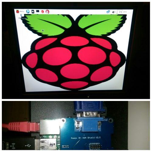 Raspberry Pi B+ VGA