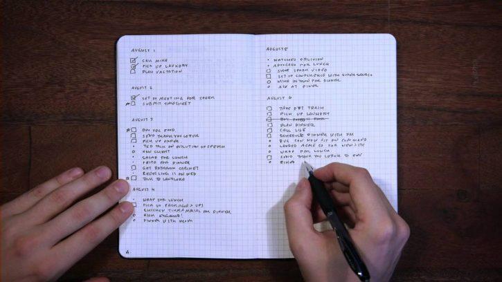 Eindelijk een takenlijst die werkt. Bullet Journal