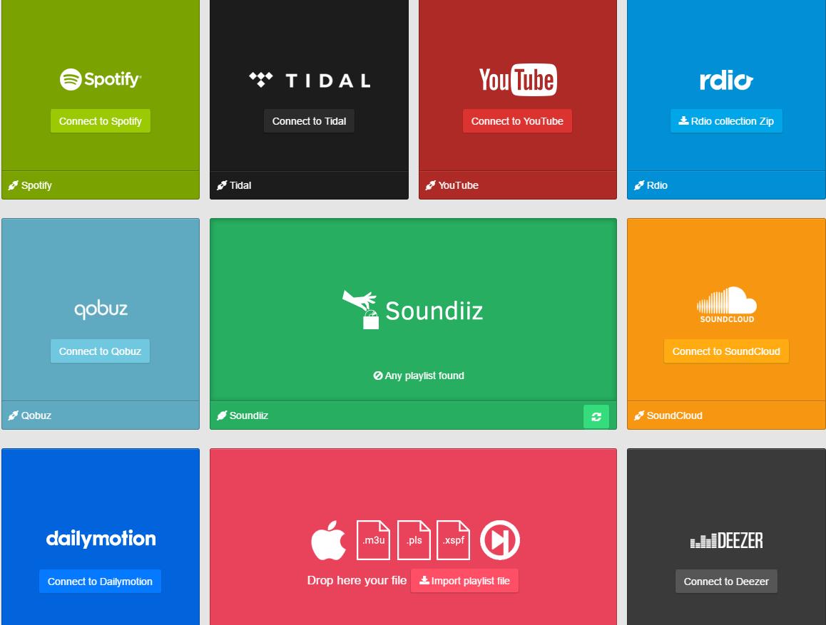 Van Discogs verzameling naar Spotify playlist met Soundiiz