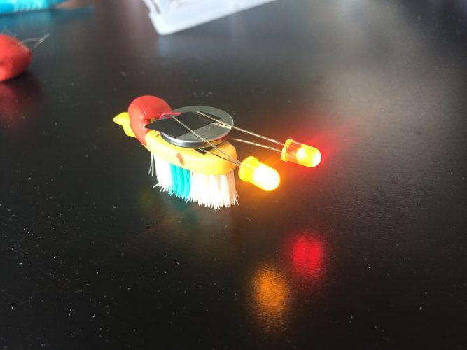 Tandenborstel robots maken